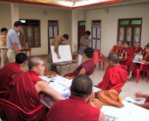 Science Workshop (Drepung Monastery 2002)